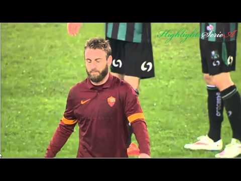 Roma-Sassuolo | Highlights HD Sky [05/12/2014]