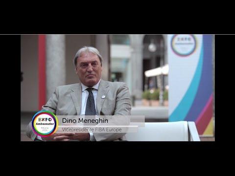 Ambassador Expo Milano 2015 Dino Meneghin