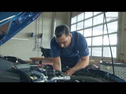 Mercedes Benz A-Class | Remove starter