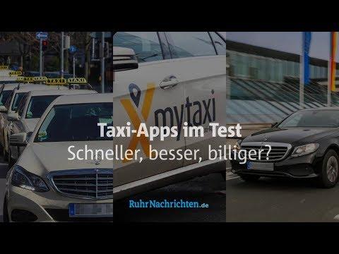 Taxi-Apps im Test - schneller, besser, billiger?