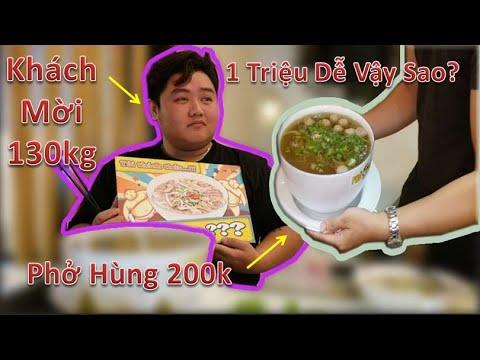 Khách Mời 130kg Tham Dự Thử Thách Ăn Phở Hùng 200k Nhận 1 Triệu. - Thời lượng: 21:16.
