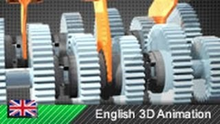 10. How a Motorcycle Transmission Works! (Animation)