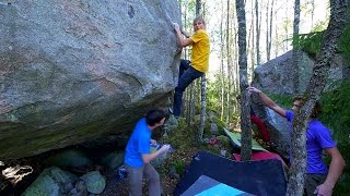 Bouldering Outside Episode One - With Alex, Emil And Fredrik by Eric Karlsson Bouldering
