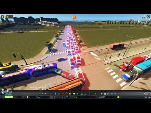 Cities Skylines - Turning Europe Into Complete Chaos
