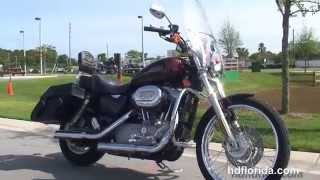 10. Used 2009 Harley Davidson Sportster 883 Custom Motorcycles for sale - Ocala, FL