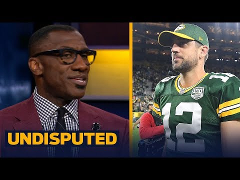 Shannon Sharpe was 'impressed' by Aaron Rodgers during Week 1 vs Chicago | NFL | UNDISPUTED