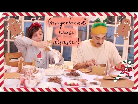 Gingerbread House Challenge FAIL!!! | Nikki Lilly