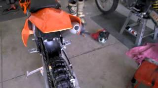 1. 2007 KTM 105 SX Walkaround