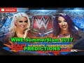 Video WWE SummerSlam 2017 Raw Women's Championship Alexa Bliss vs. Sasha Banks Predictions WWE 2K17