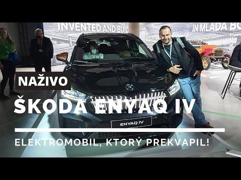 2021 ŠKODA ENYAQ iV - elektromobil, ktorý budú Slováci milovať /w Drahomír Piok