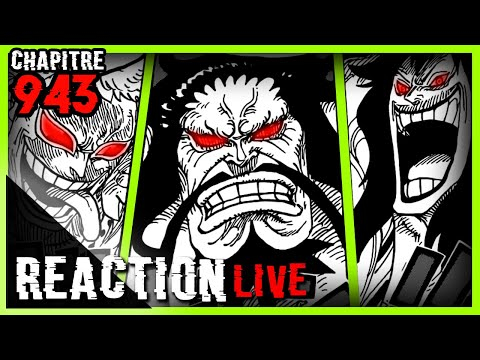Reaction Live chapitre One Piece 943 - Enfin réuni!!
