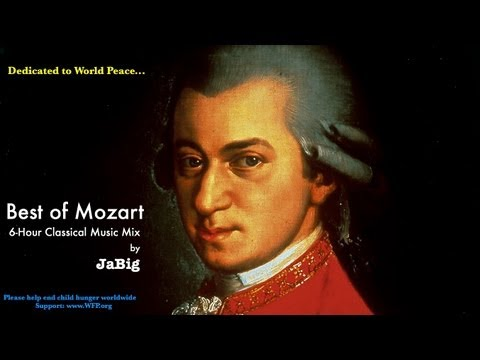 6-Hour Mozart Piano Classical Music Studying Playlist Mix by JaBig: Great Beautiful Long Pieces (видео)