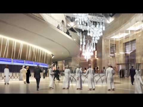 Convention Centre - Video for Oman Convention and Exhibition Centre (OCEC Project) by Omran.