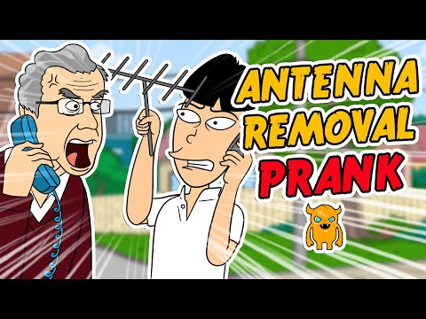 ownage pranks - I called a guy as Buk Lau who has a HUGE Ham radio antenna coming out of the middle of his house and said that it was causing interference with my Asian sate...
