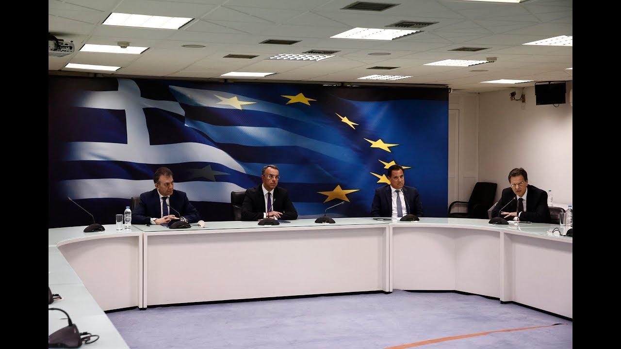Ανακοινώθηκε η δεύτερη δέσμη οικονομικών μέτρων για την αντιμετώπιση των συνεπειών από τον κορονοϊό