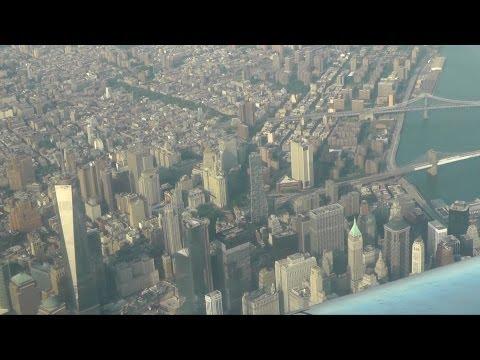 New York City aerial view / Нью-Йорк - вид с воздуха