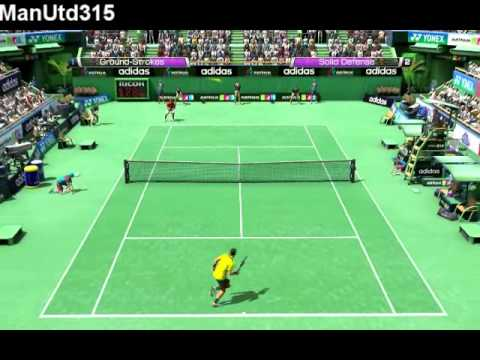 Virtua Tennis 4:Novak Djokovic vs. Rafael Nadal