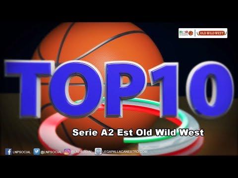 Serie A2 Old Wild West, Top Ten 6. Giornata. Lollo Penna al top!