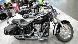 2. 2014 Kawasaki Vulcan 900 Classic LT Walkaround - 2013 New York Motorcycle Show
