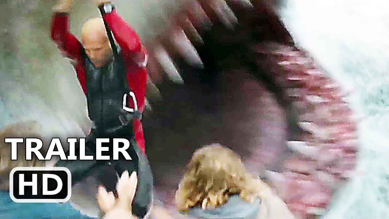 THE MEG Trailer EXTENDED (2018) Shark Movie HD