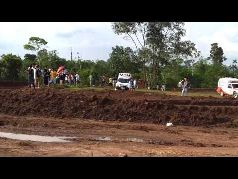 Motocross Nova Lacerda, Muito Barro.