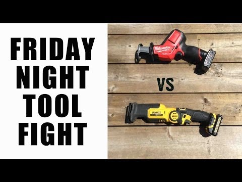milwaukee - We take a look at the latest Milwaukee Fuel 12V Hackzall 2520-21XC vs the DeWALT DCS310S1 12V Reciprocating Saw.