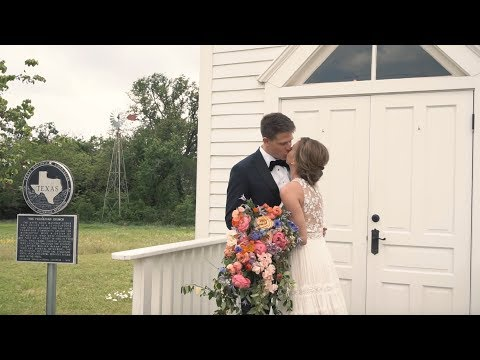 A Flower-Filled Spring Wedding in Texas | Martha Stewart Weddings