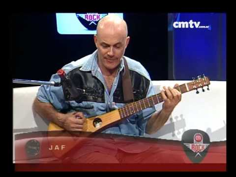 JAF video El guitarrista (fragmento)  - CM Rock 2014