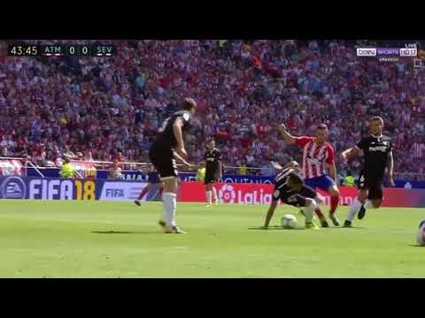 Atletico Madrid vs Seville 2 0   All Goals   Highlights   La Liga   23 9 2017 HD
