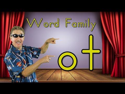 Word Family -ot | Phonics Song for Kids | Jack Hartmann
