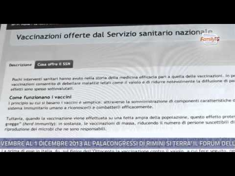 Family Tg 22/05/2013 – Vaccini, FederAnziani in difesa di una vaccinazione efficace e corretta
