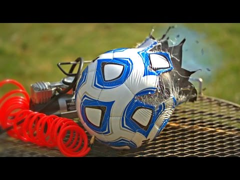 This Man Gets A Soccer Ball And An Air Pump, Watch What Happens Next (VIDEO)