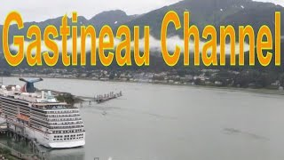 Juneau (AK) United States  city photos gallery : Gastineau Channel, Channel in Juneau, Alaska, United States