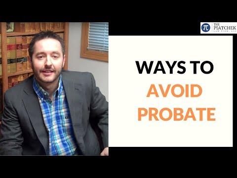 Avoiding Probate in Missouri (Video): by MIssouri Attorney Joseph J. Piatchek, Piatchek Law Firm