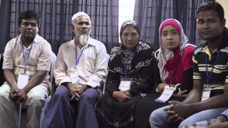 <h5>Dr. Shaikh Sultan and Shaikha Jawaher meet Rohingya refugees in Malaysia </h5>