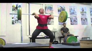 Weightlifting training footage of Catalyst weightlifters. Audra block snatch, Brian power snatch, Steve front squat, Audra snatch pull, Alyssa snatch high-pull + snatch, Blake pause power jerk, Jessica power clean + power jerk, Brian power clean, Tate power snatch, Alyssa snatch balance, Tamara block power snatch, Jessica heaving snatch balance. - Weight lifting, Olympic, weightlifting, strength, conditioning, fitness, exercise, crossfit - Catalys