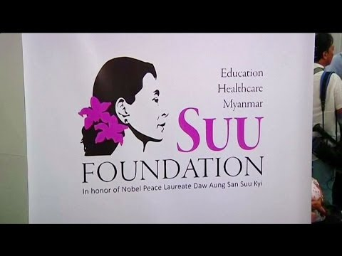 Suu Kyi and Yeoh launch health and education foundation
