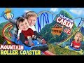 ROLLER COASTER on a MOUNTAIN!! (FUNnel Family Teleporting Cabin Trip pt 2) Titanic Adventure Vision