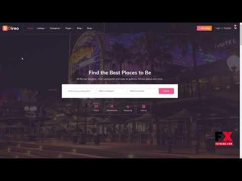 Direo - Directory and Listing WordPress Theme      Reuben Harding