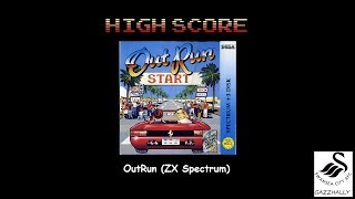 Outrun (ZX Spectrum Emulated) by gazzhally