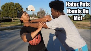 Video HATER KID disses me in Basketball game! MP3, 3GP, MP4, WEBM, AVI, FLV Maret 2019