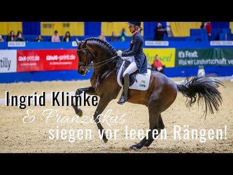 Ingrid Klimke siegt vor leeren Rängen! | mit Franziskus | Signal Iduna Cup Dortmund