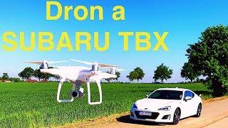 First car movie taken from drone Phantom 4.