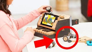 Nintendo Labo Reveal Trailer: EVERY DETAIL ANALYZED by IGN
