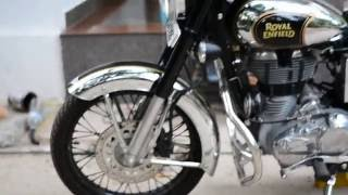10. Royal Enfield Classic 500 Chrome 2016