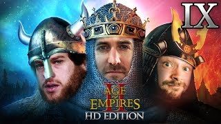 Age Of Empires 2 HD Edition 2v1 #09   Florentin & Donnie vs. Marco