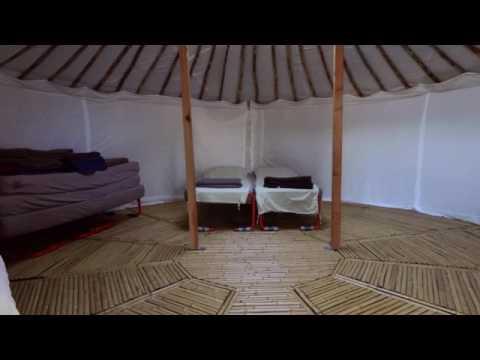 VIDEO drone et yourtes