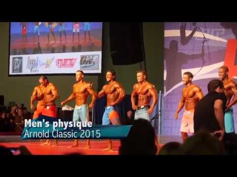 Men's Physique Arnold Classic 2015