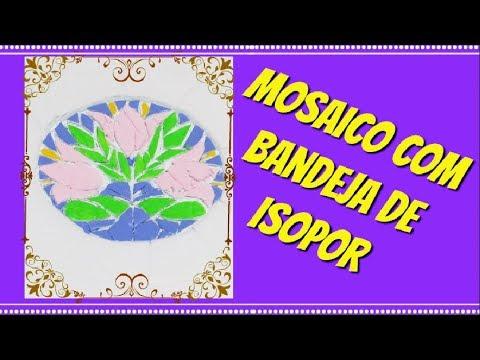 Mosaico com Isopor