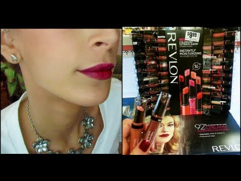 revlon - http://www.facebook.com/leighannsays Happy Friday Eve!! This is my first day review of the new Revlon Colorstay Ultimate Suede Lipstick. Hope you enjoy! Than...